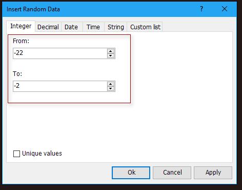 doc kutools insert random data 2