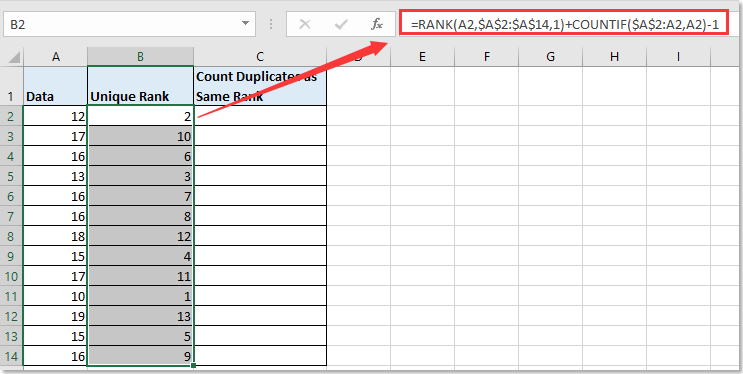 doc rank duplicate without skip 5