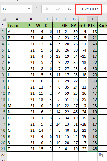 doc rank league table 2