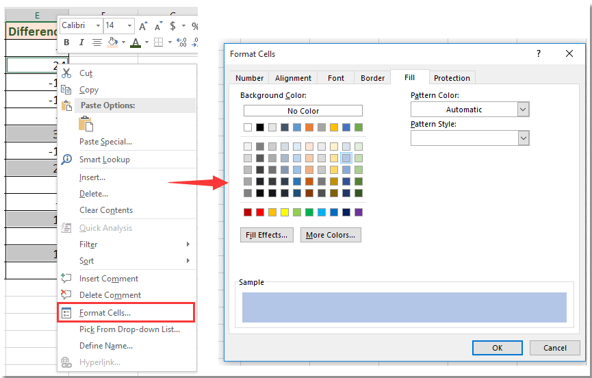 doc remove conditional formatting rule but keep format 6