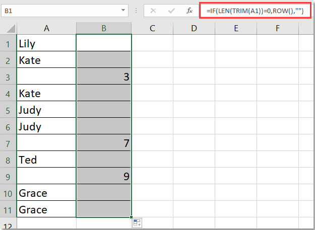 doc remove duplicates keep blanks 2