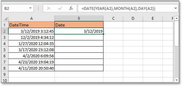 doc kutools remove time from date 3