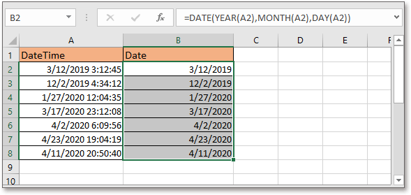 doc kutools remove time from date 4