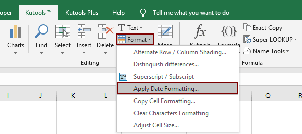 How to remove year from date in Excel?
