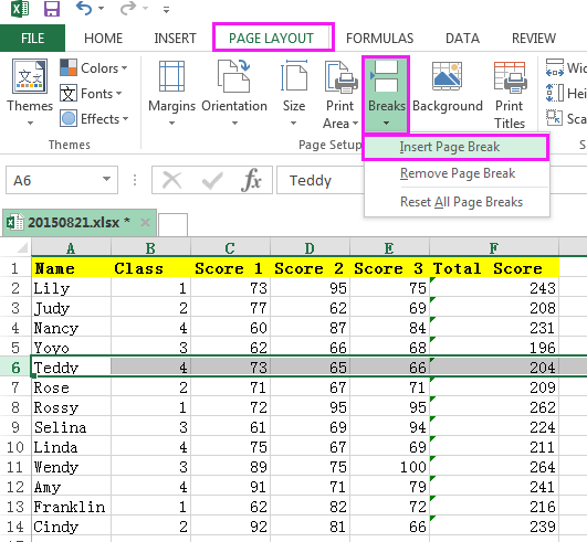 How To Repeat Heading Row Every Nth Row In Excel?