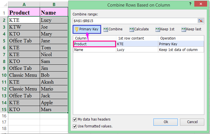 doc return multiple values comma separated 4