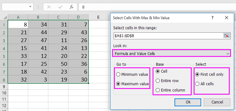 doc return second hightest value 5