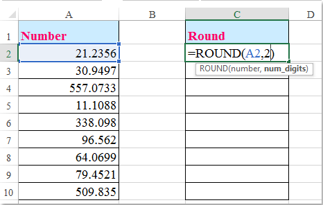 doc round numbers 1