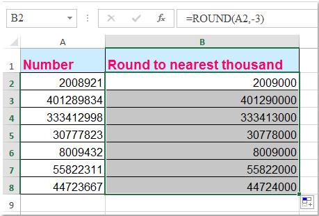 doc round nearest 1000 2