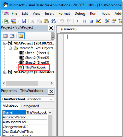 doc run code when open or close 1