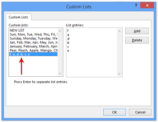 doc save custom sort criteria 6