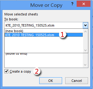 copy the sheet with filtered data into a new workbook or existing workbook