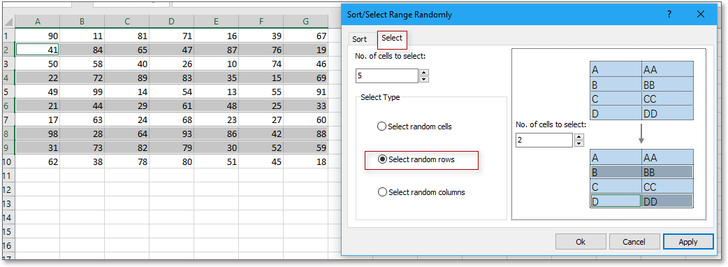doc select randomly 3