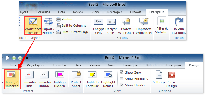 cells locked in excel how to unlock