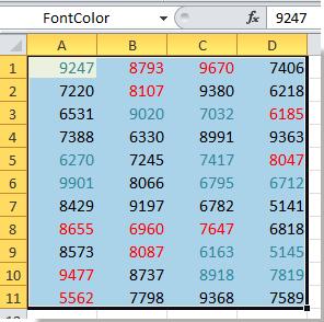 doc seleziona l'intervallo denominato 6