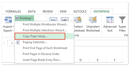 How to insert sequential page numbers across worksheets when printing?