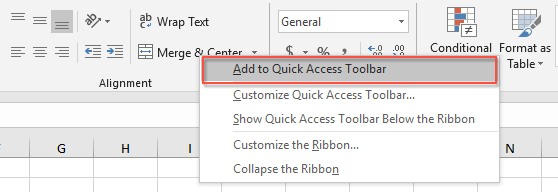 How to merge and center cells by shortcut keys in Excel?