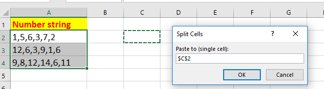 doc sort comma separated number 11