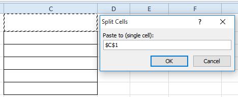 doc diviser une cellule 14