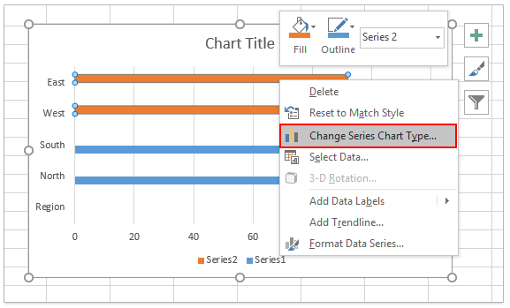 Combo chart excel 2010