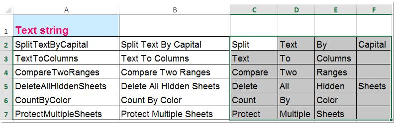 doc divisé par capital 13