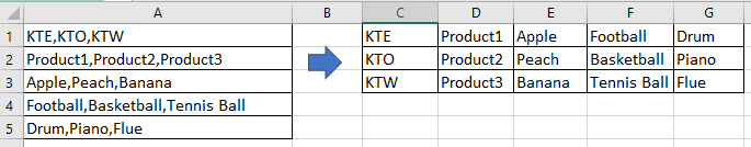doc split cell to columns 12