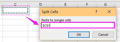 doc split cell to columns 9