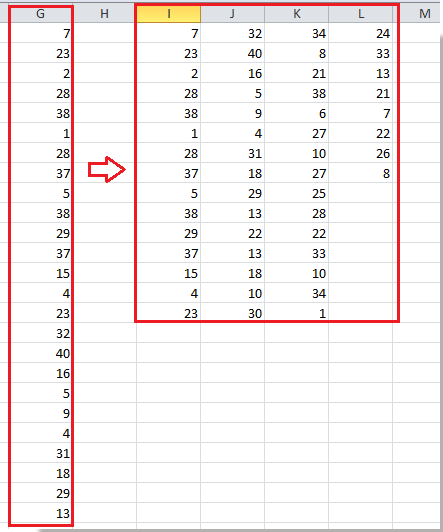 doc split to multiple columns 4