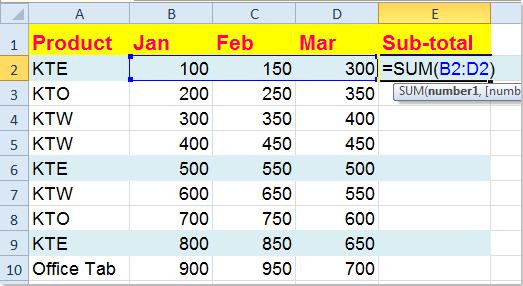 doc-sum-columns-one-criteria-2