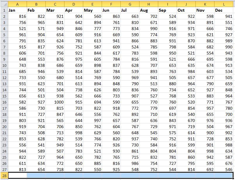 doc sum each column 3