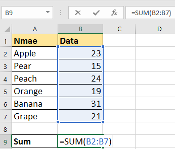 doc sum numbers with units 6