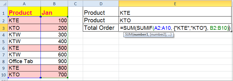 doc-sum-multiple-criteria-one-column-4