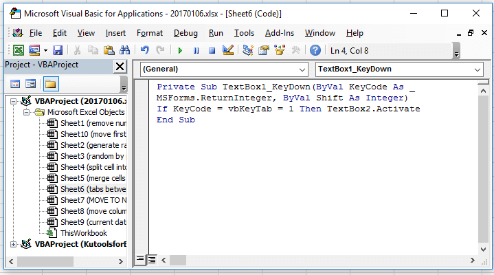doc tab between textboxes 2