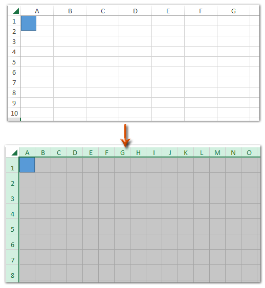 making graph paper in excel