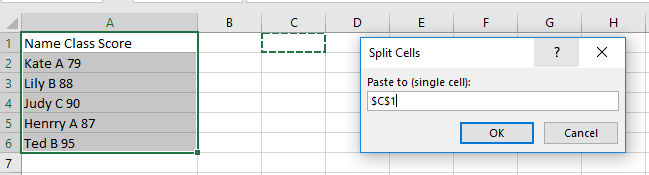 doc text file to excel file with delimiter 12