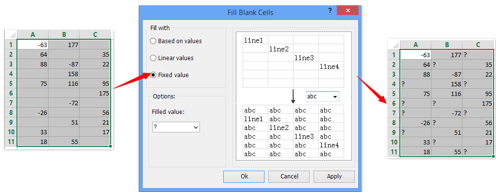 ad fill blank cells 3