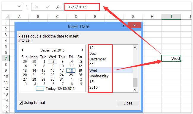 ad insert formatting date 0