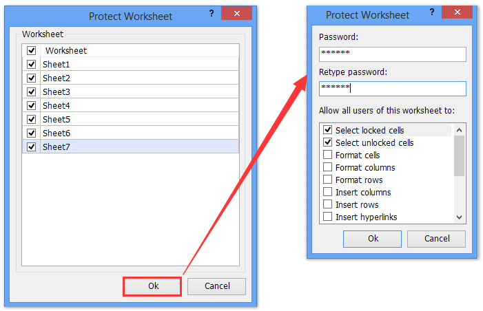 how to password protect an excel document