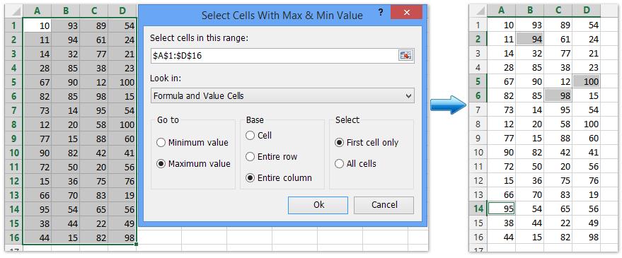 ad select max min 2
