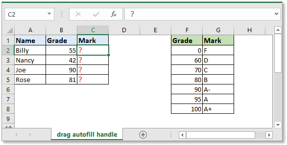 doc autofill vlookup 1