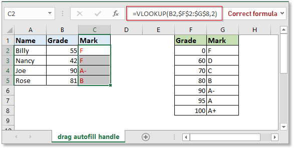 doc autofill vlookup 3