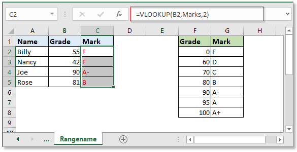 doc autofill vlookup 5