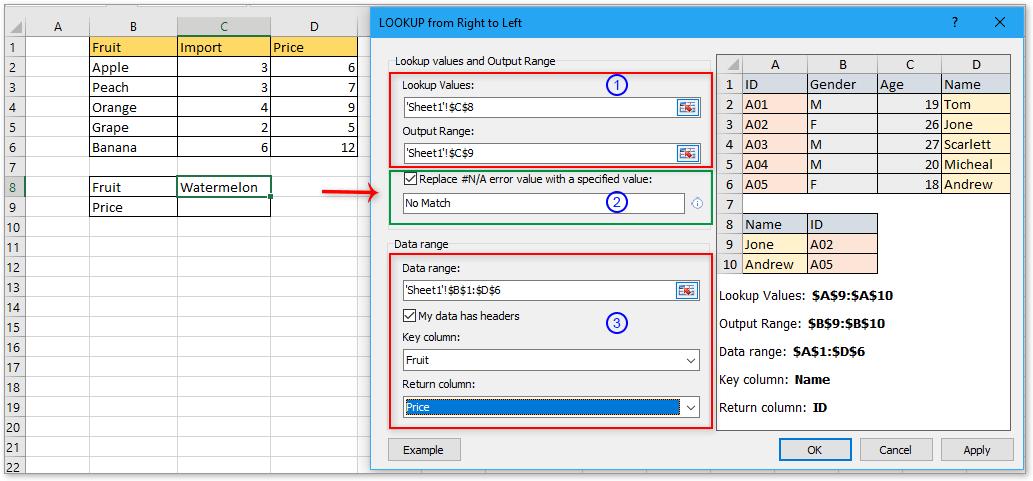 doc vlookup return default value 4