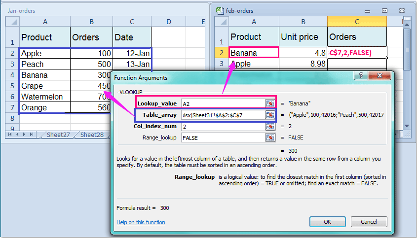 How to vlookup to another workbook?