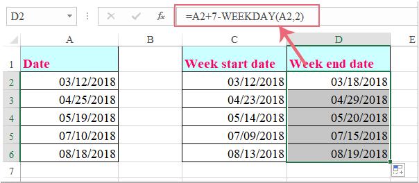 doc week start date 3