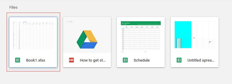 doc werkboek naar google sheet 4