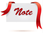 note ribbon 150x118