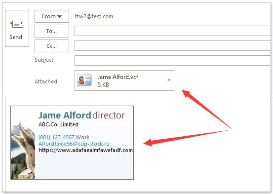 Wie Füge Ich Visitenkarten Zu Outlook In Outlook Hinzu