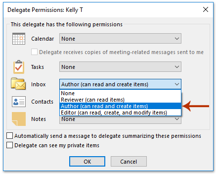 How to allow others to send emails on behalf of yourself in