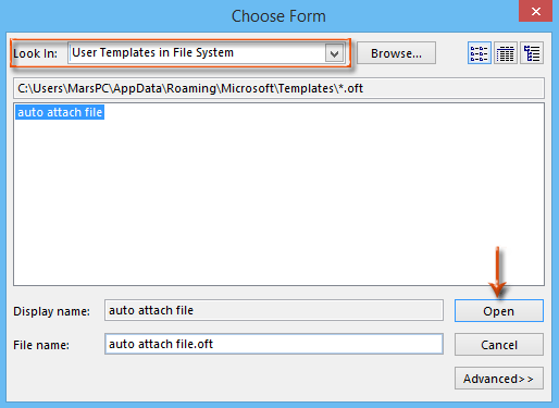 Outlook Automatically Attach Files In New Message